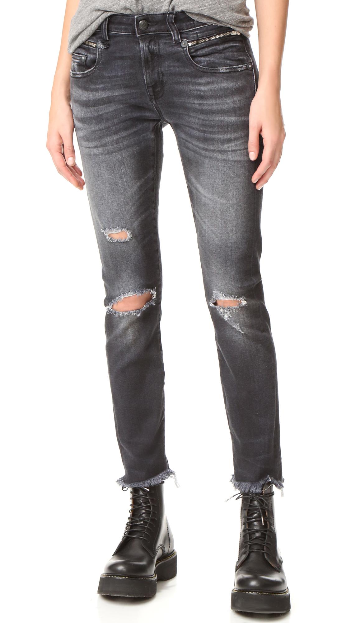 R13 Biker Boy Jeans In Albany