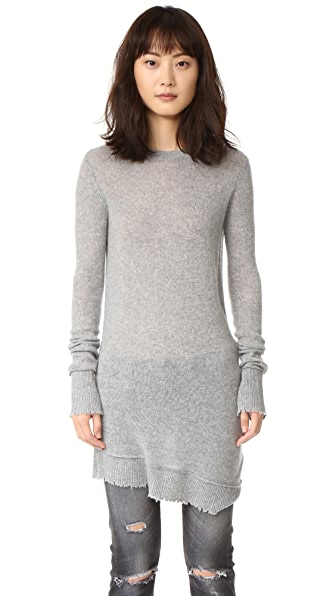 R13 Distressed Cashmere Sweater