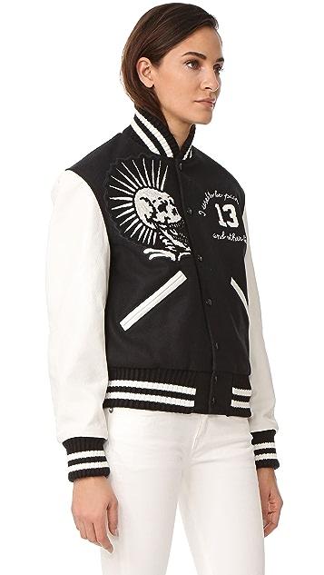 R13 Vintage Varsity Jacket