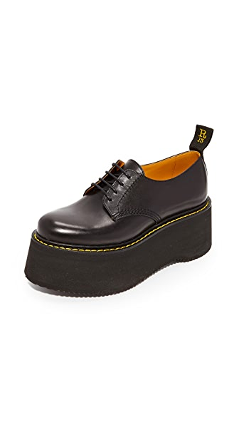 R13 X Stack Oxfords - Black