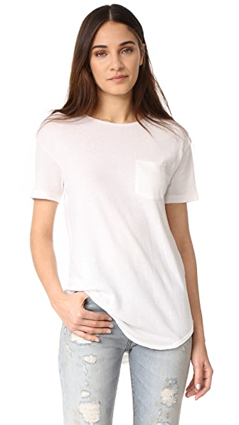 R13 Pocket Tee - White