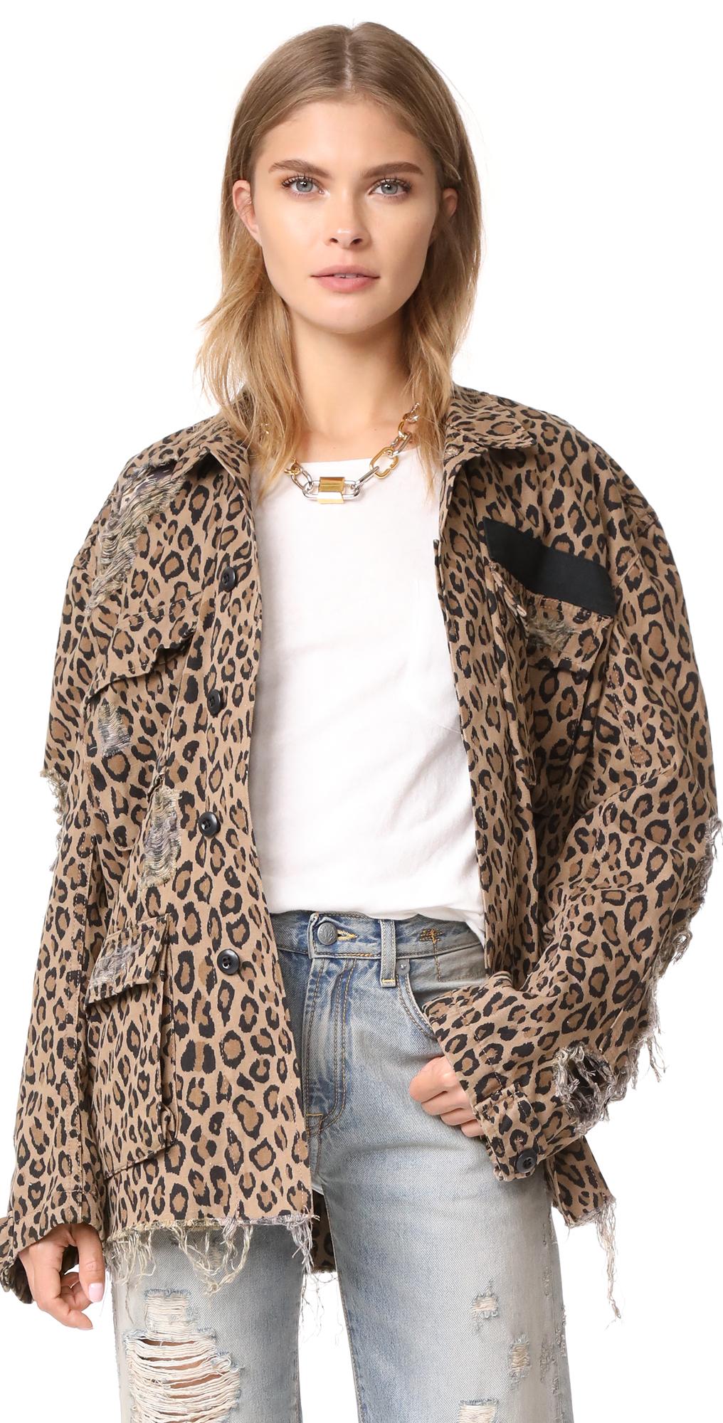 Shredded Leopard Abu Jacket R13