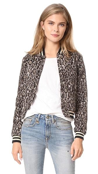 R13 Leopard Wool Roadie