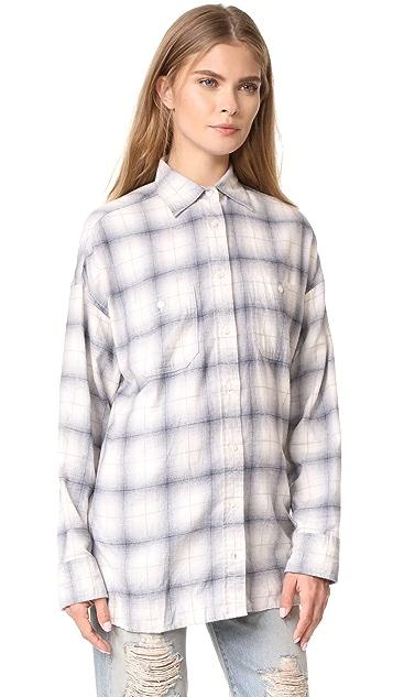 R13 Backless Shirt
