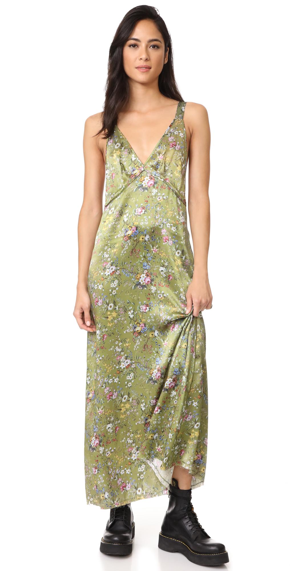 Long Slip Dress R13