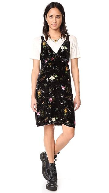 R13 Velvet Slip Dress