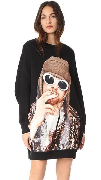 R13 Oversized Kurt Sweatshirt In Black