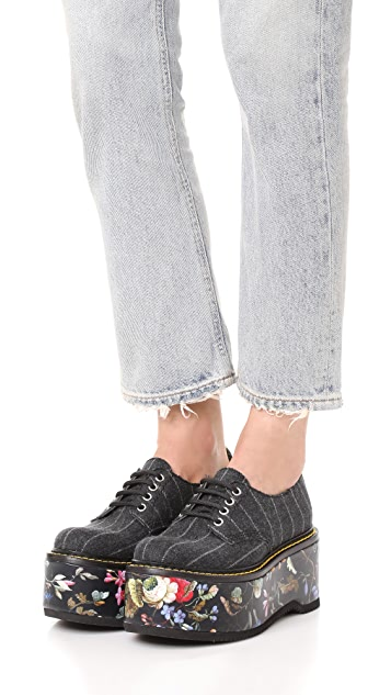 R13 Double Stack Oxfords