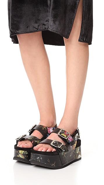 R13 Platform Sandals