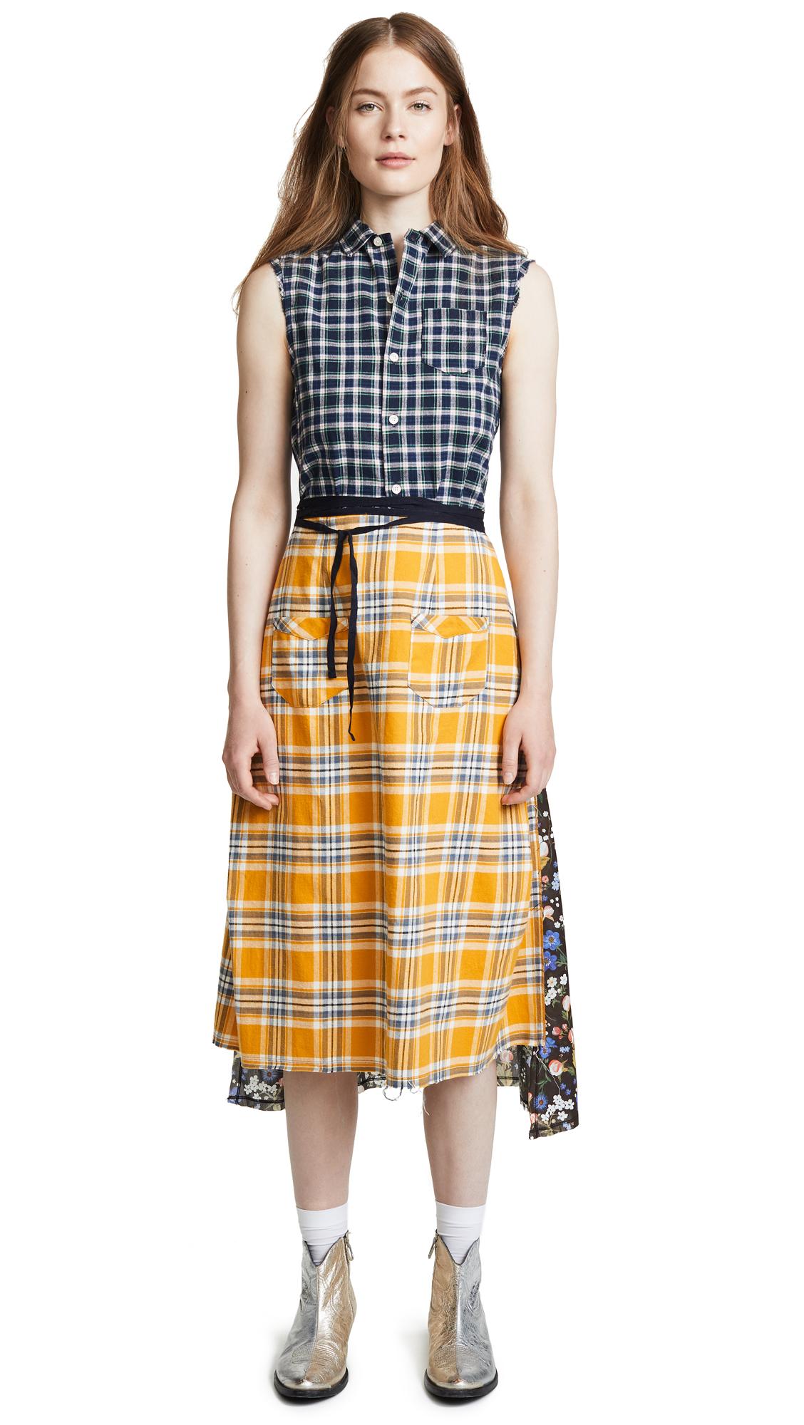 R13 Apron Prairie Dress