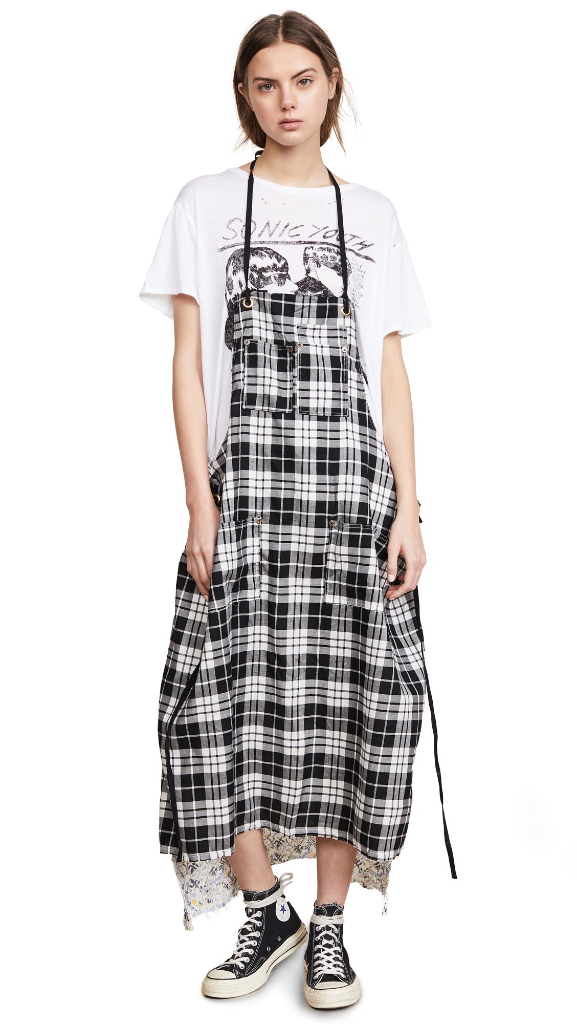 APRON T-SHIRT DRESS