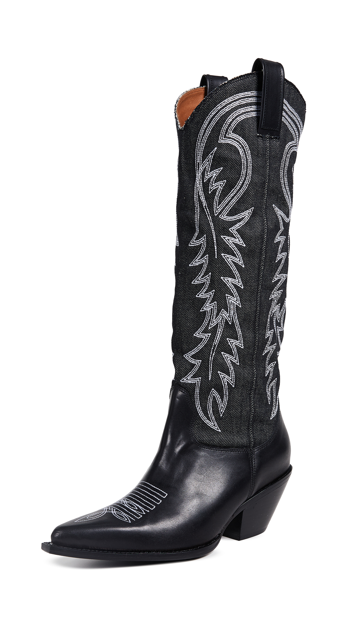 Photo of R13 Mid Straight Cowboy Boots - buy R13 footwear online
