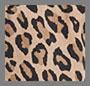 леопардовый с оливковым