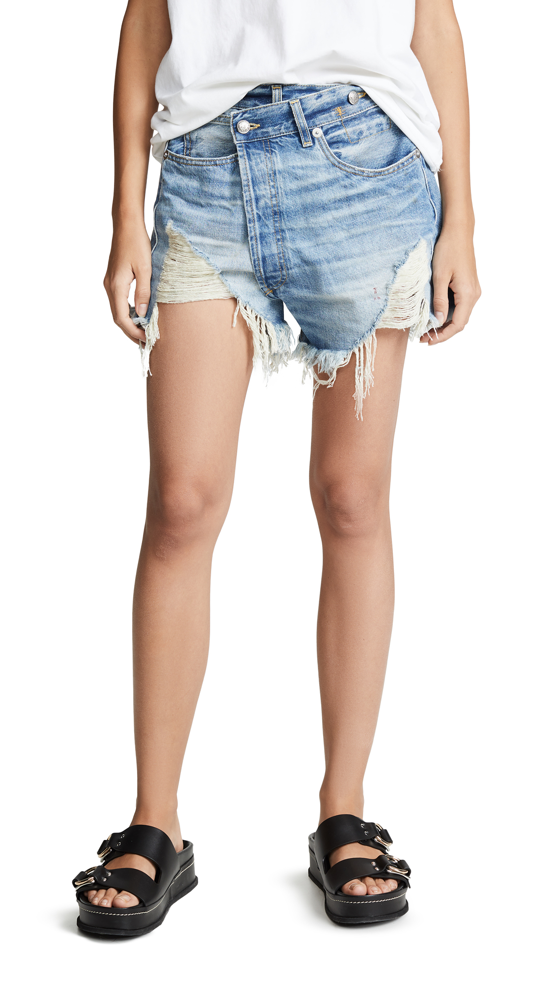 Buy R13 online - photo of R13 Crossover Shorts