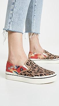 9186d61dc36 Leopard. 12139 like it. R13. Slip On Sneakers