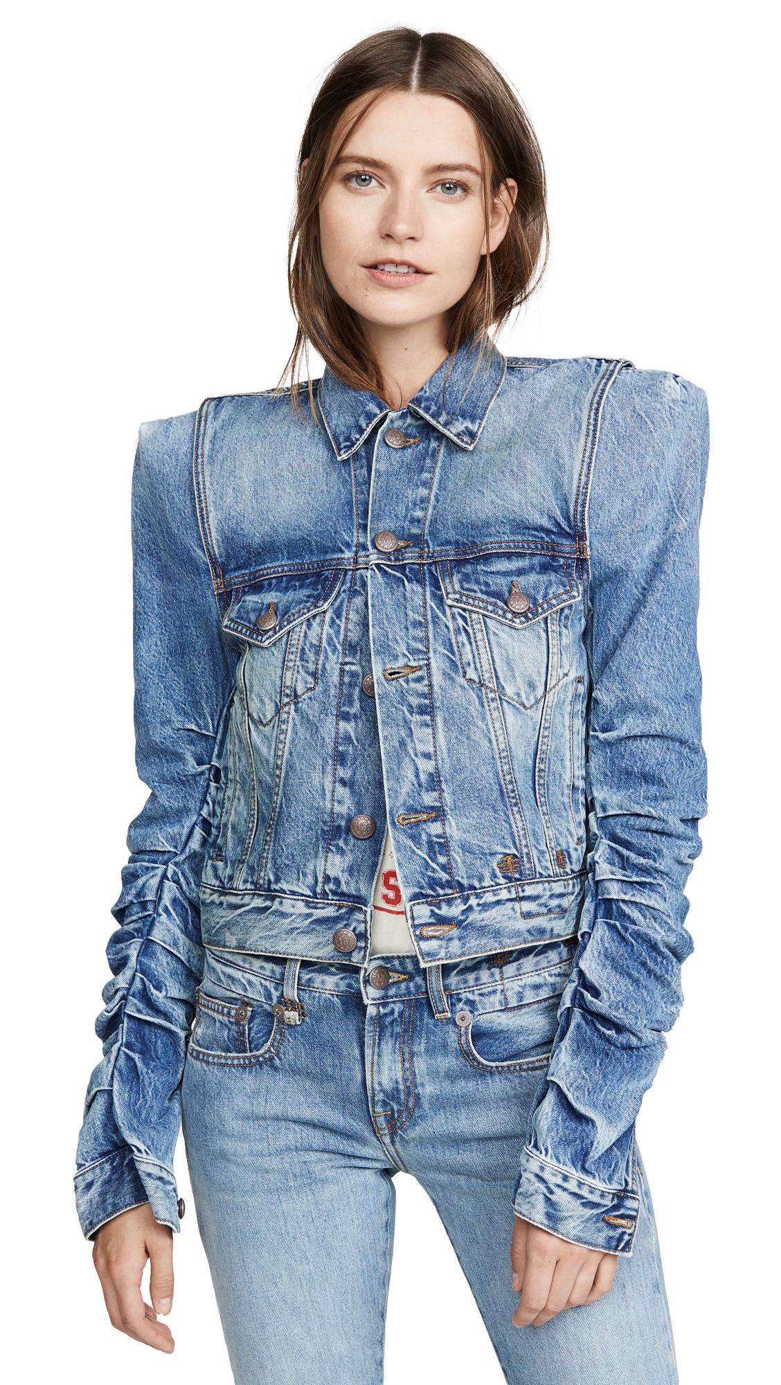 Buy R13 Kelsey Denim Jacket online beautiful R13 Clothing, Jackets
