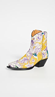 R13 Ankle Cowboy Boots