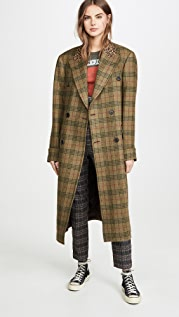 R13 Double-Breasted Coat