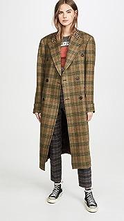 R13 Двубортное пальто