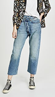R13 R13 Crossover Jeans