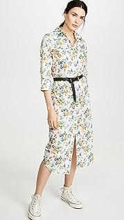 R13 3/4 Sleeve Cowboy Dress