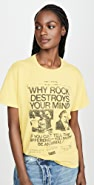 R13 Why Rock Destroys Your Mind Boy Tee