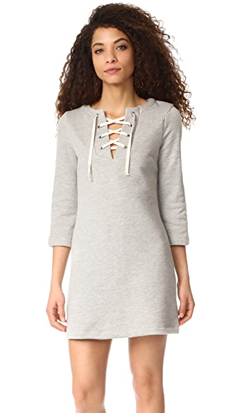 RUKEN Hannah Dress - Heather Grey