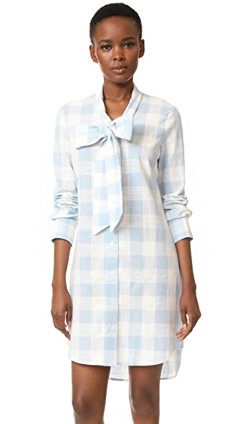RUKEN Sophie Dress - Light Blue