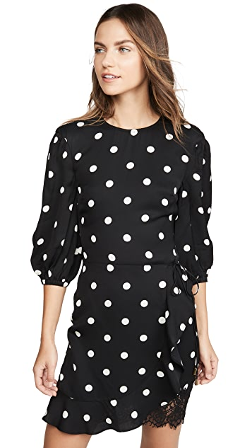Rebecca Vallance Penelope Long Sleeve Mini Dress