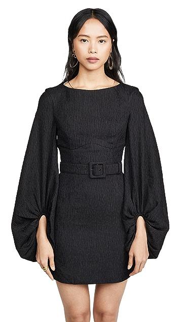 Rebecca Vallance Greta Long Sleeve Mini Dress