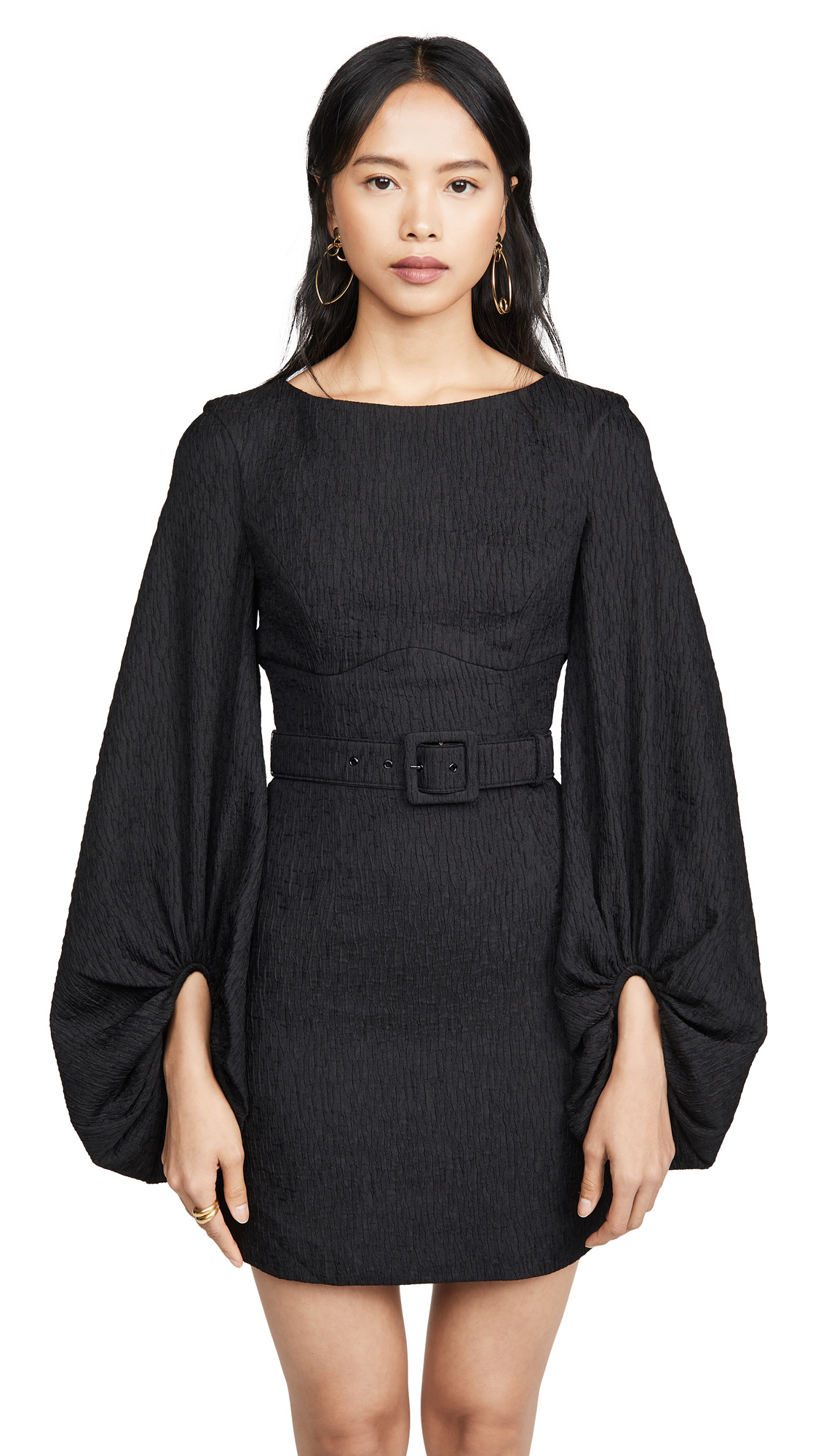 Buy Rebecca Vallance online - photo of Rebecca Vallance Greta Long Sleeve Mini Dress