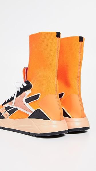 Shop Reebok X Victoria Beckham Vb Bolton Sock Sneakers In