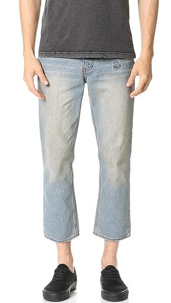 RVCA No Wave Flood Jeans