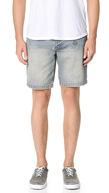 RVCA No Wave Burnout Walk Shorts