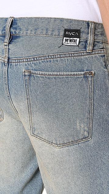RVCA No Wave Burnout Walk Shorts