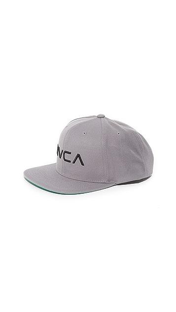 RVCA RVCA Twill Snapback III