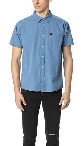 RVCA Front Lawn Short Sleeve Shirt