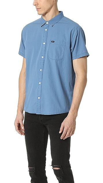 RVCA Front Lawn Short Sleeve Shirt
