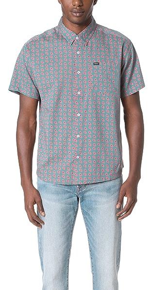 RVCA Simon Short Sleeve Shirt