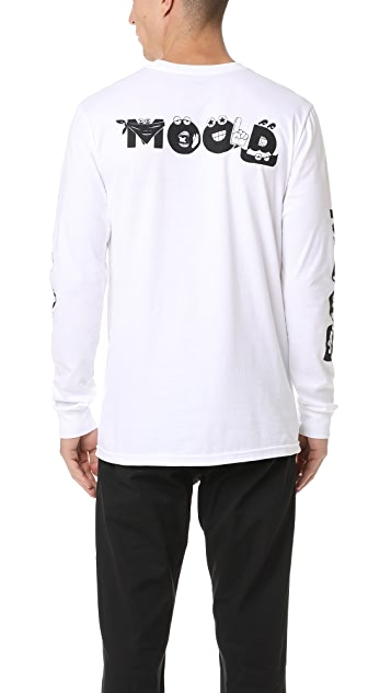 RVCA Mood Long Sleeve Tee