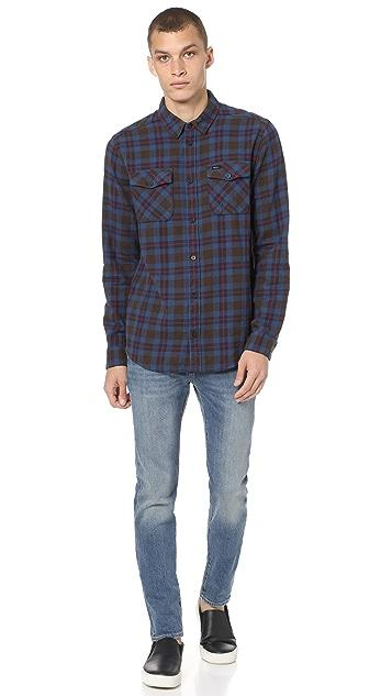RVCA That'll Work Flannel Shirt