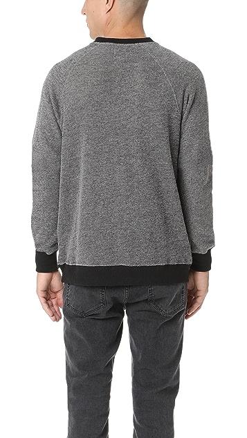 RVCA Capo Henley Crew Sweatshirt