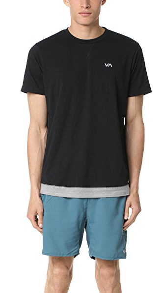 RVCA Runner Mesh Short Sleeve Shirt