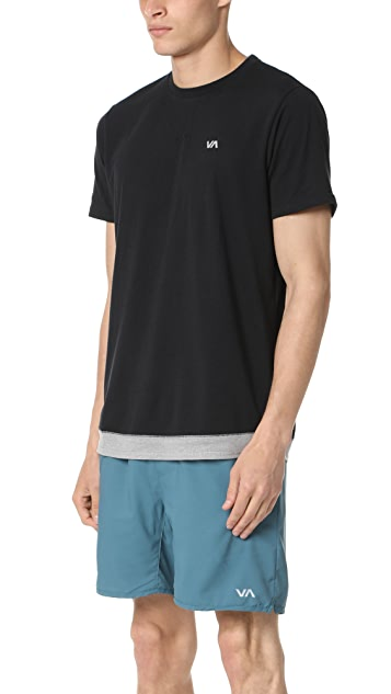 RVCA Runner Mesh Short Sleeve Shirt