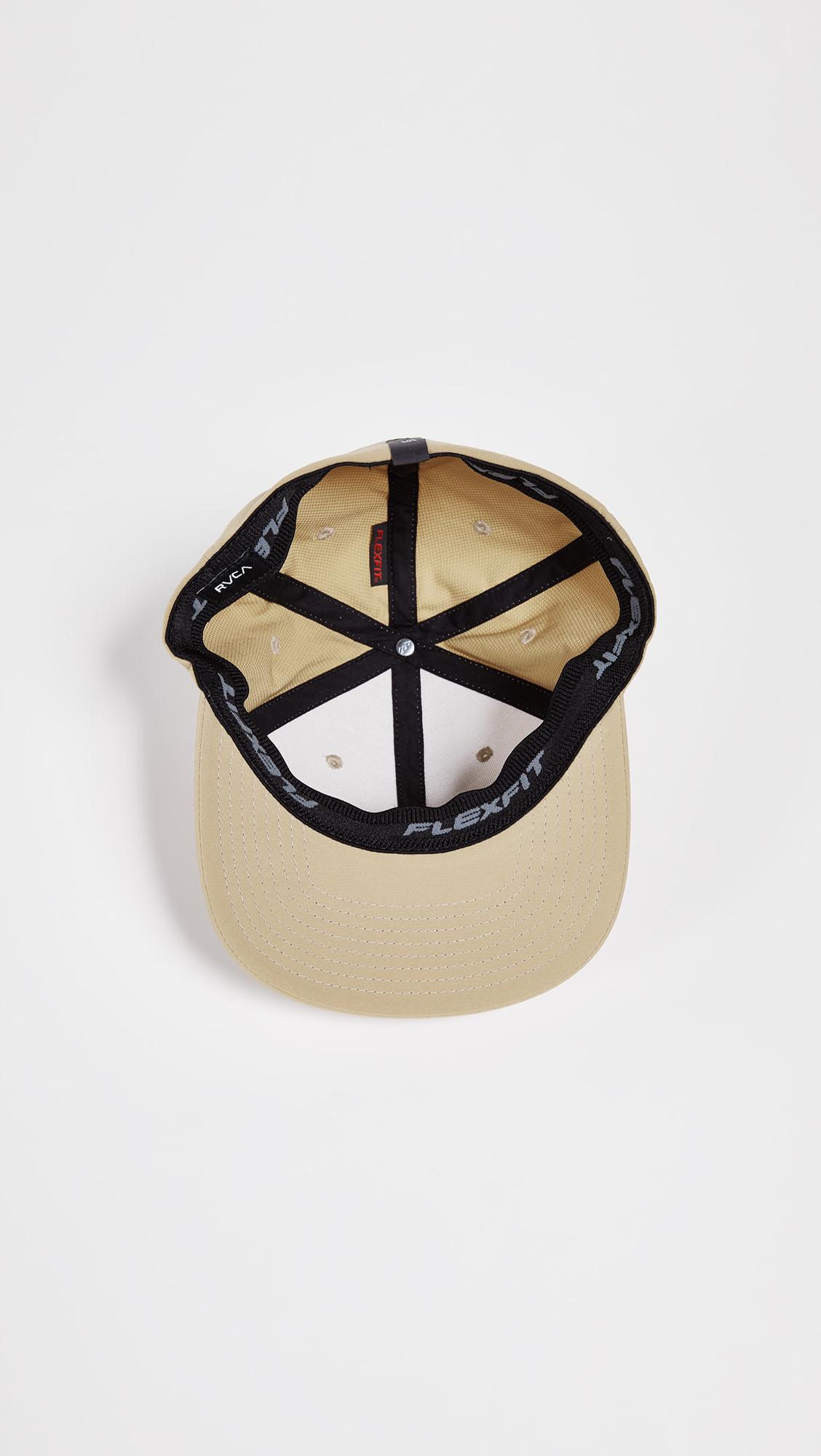 best service 4101c ffae5 RVCA Warner Flex Fit Hat   EAST DANE