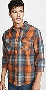 RVCA Muir Flannel Button Down Shirt