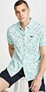 RVCA Elegie Floral Short Sleeve Shirt