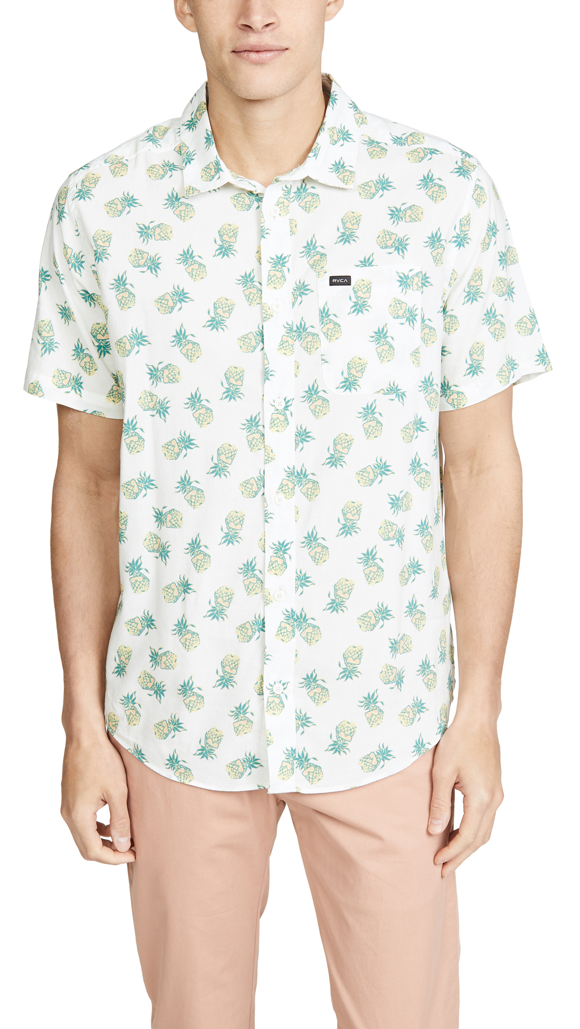 50515c1b5f RVCA Anp Pack Short Sleeve Shirt   EAST DANE