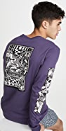 RVCA Long Sleeve Halicon T-Shirt