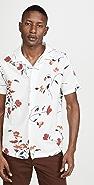 RVCA Short Sleeve Lazarus Floral Shirt